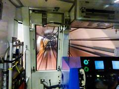 Tokyo Tube VIII (Douguerreotype) Tags: city urban japan train underground subway tokyo metro tube tunnel