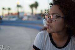 Breath of freedom (RelgLugo) Tags: love girl mexico cabo nikon friend bokeh cigarette gorgeous smoke sight damaris cabosanlucas cigarrette beatifull d3300