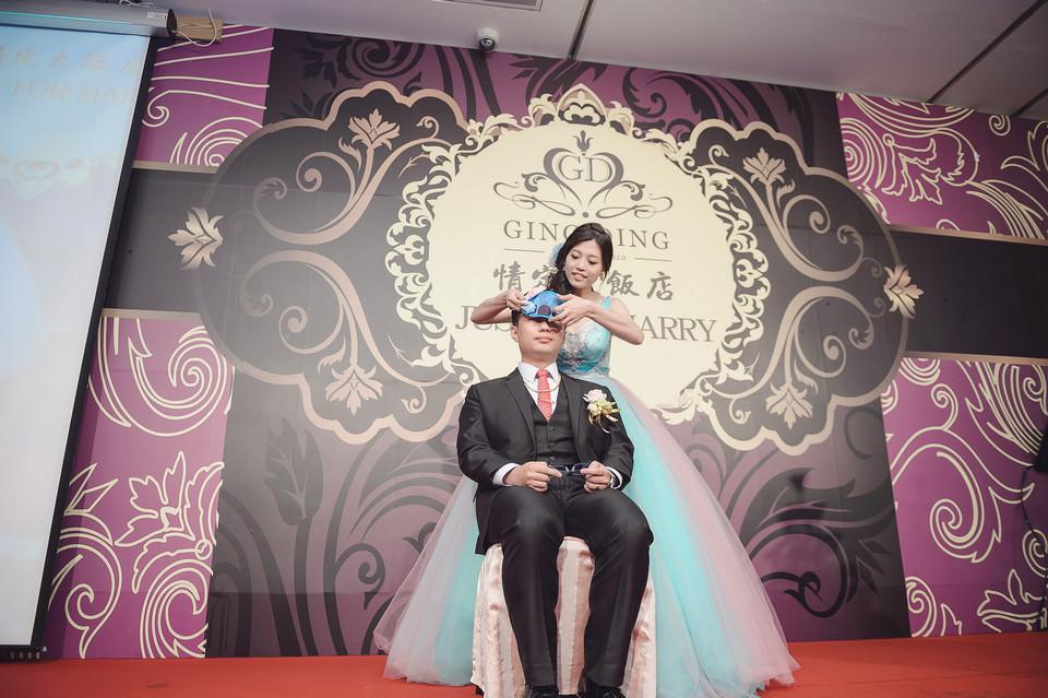 婚禮攝影-台南情定婚宴城堡永康館-72