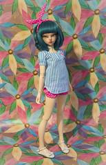 Commission (Purple Raccoon) Tags: handmade sewing bjd commission fairyland msd effy minifee rheia balljonteddoll