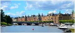 Djurgrdsbron, Strandvgen,Stockholm (lagergrenjan) Tags: djurgrdsbron strandvgen stockholm btar marina