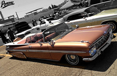 1959 Chevy Impala Convertible (Pomona Swap Meet) Tags: pomonafavorites pomonaswapmeet chevy chevrolet lowrider impala 1959 chevyimpala 1959chevyimpala impalaconvertible continentalkit classicchevy classicimpala classiccars