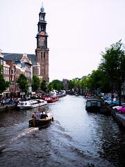 Westerkerk (Jim Van Cura) Tags: amsterdam canal westerkerk