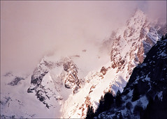 Hidden peaks (Katarina 2353) Tags: winter italy mountain alps film landscape nikon europe courmayeur katarinastefanovic katarina2353