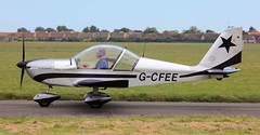 Evektor EV-97 EuroStar G-CFEE Lee on Solent Airfield 2016 (SupaSmokey) Tags: evektor ev97 eurostar gcfee lee solent airfield 2016 eghf