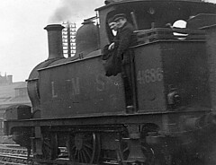 Nottingham London Road Junction 1F 0-6-0T 41686 le c1950 JVol4193 (DavidWF2009) Tags: 1f 41686 060t nottinghamlondonroadjunction
