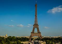 Eiffel Tower and Champ de Mars - Paris France (mbell1975) Tags: mars paris france tower de la europe ledefrance torre tour eiffel eiffelturm champ