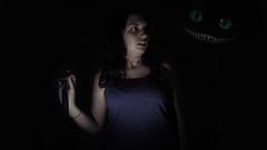 Are you scared? (Leo Hidalgo (@yompyz)) Tags: dark tim darkness alice flash wonderland burton 600d
