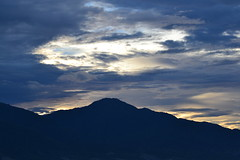 Gawalise SunSet (riski2014) Tags: sunset indonesia nikon gunung pantai palu matahari talise terbenam 55300vr sulteng d3100 flickrandroidapp:filter=none