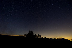 starry night (MadmT) Tags: light sky mountain night stars star space mont aigoual madmat madmt wwwmadmatnet