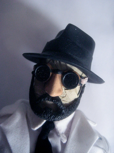 The Invisible Man in Disguise Beard and Moustache 9828