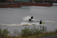 ACTION ON THE TEES (M7CCF) Tags: ski water canon river eos action jet tees 650d