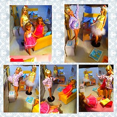 Barbie sleepover!! Part one (fallconary615) Tags: mod doll barbie skipper pjs tnt deandra francie fashonistas uploaded:by=flickrmobile flickriosapp:filter=nofilter