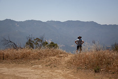 Man with a Hat - Eagle Rock Trail, Topanga State Park - California (ChrisGoldNY) Tags: california people mountains men nature grass poster outdoors landscapes losangeles forsale hats trails dry socal posters albumcover bookcover southerncalifornia topanga westcoast rugged bookcovers albumcovers eaglerock gridskipper laist topangastatepark losangelescounty jaunted eaglerocktrail chrisgoldny chrisgoldberg chrisgold chrisgoldphoto chrisgoldphotos