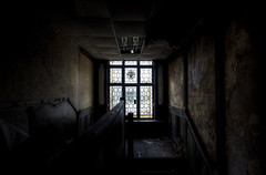 False Hope (DanRSmith) Tags: light shadow house dark decay grunge grime manor derelict urbex