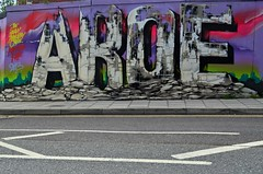 AROE (Di's Free Range Fotos) Tags: new uk england graffiti brighton artillery quarter msk ha heavy aroe
