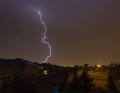 First lightning of the year (pbruch) Tags: toronto night long exposure year first strike lightning mississauga