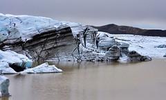 Svinafellsjkul (Cyril Plapied) Tags: lake ice iceland lac glacier glace islande svinafellsjkul