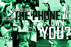 THE PHONE (Steve in HK) Tags: mobile poster hongkong phone cellphone mobilephone stephenhughes steveinhk