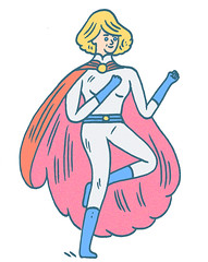 powergirl redesign (JON BOAM) Tags: powergirl jonboam powergirlredesign