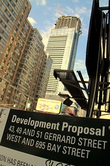 IMG_4619 (wyliepoon) Tags: park toronto college skyscraper construction downtown condo proposal development aura condominium
