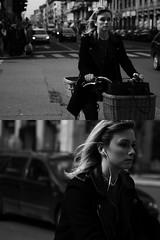 [La Mia Citt][Pedala] (Urca) Tags: portrait blackandwhite bw italia milano bn ciclista biancoenero bicicletta pedalare 2013 56265 ritrattostradale