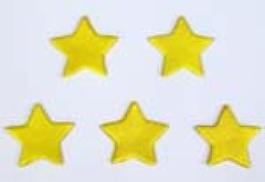 Gold star 3.5cm (sweetinspirationsaustralia) Tags: cupcaketoppers