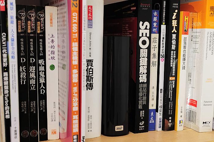 wd-my-book-4tb 3.5吋外接硬碟開箱