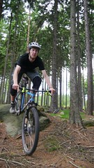 roll over (Hagbard_) Tags: friends berg fun jump mountainbike gap mtb wald freeride chill sprung spass leben adrenalin bergabrad dudzofsneznik