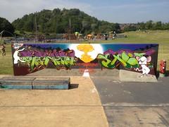 The same thing we do every night.... (.ZenerOner.HTB.SFM.) Tags: graffiti brain pinky trent production bomb atomic stoke snot hanley oner zener zeneroner