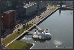 2013-07-08 Rotterdam - View from De Rotterdam - 14 (Topaas) Tags: rotterdam remkoolhaas oma koolhaas kopvanzuid ovg derotterdam wilhelminapier hogeschoolinholland rijnhaven sonya77 drijvendpaviljoen sonyslta77 sonyslta77v