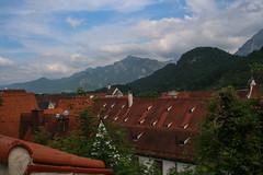 Blik vanuit Hohes Schloss, Fssen (D) (Hans de Cortie) Tags: duitsland fssen beieren