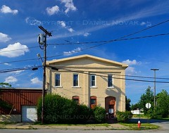 A House on Ohio Street, Buffalo, New York (NY) (masinka) Tags: summer house clouds buffalo bluesky wires ohiostreet buffaloriver buffaloniagara