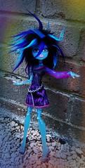 Alaska (The Lass with Toys and a Camera) Tags: blue portrait ice alaska model topv555 doll cam wig dollwig createamonster monsterhigh