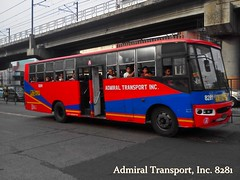 Admiral Transport 8281 (JuanMigz The First Account) Tags: transport admiral alabang novaliches 8281 cpb87n fe6b