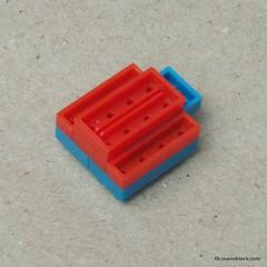 nanoblock Papa Smurf build instructions (inanoblock) Tags: toy construction lego bricks papa instructions blocks smurf build smurfs papasmurf nanoblock  nanoblocks
