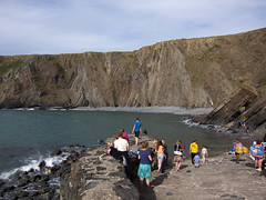 mrkwr-130808-0931.jpg (mrkwr) Tags: uk family people holidays events places devon persons hartlandquay mouthmillbeach