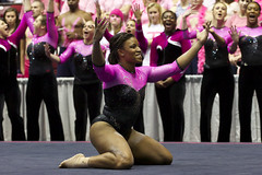 PowerofPink_58_Auvil (Shannon Auvil) Tags: pink college sports university rolltide alabama cancer gymnast gymnastics tuscaloosa fundraiser ua crimsontide cancerresearch universityofalabama alabamacrimsontide powerofpink ashleysledge