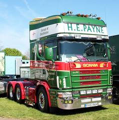 H E Payne Scania R series V8 truck FX53 BUH Truckfest Peterborough 2013 (davidseall) Tags: truck buh large goods h lorry r e vehicle series he heavy peterborough cambridgeshire v8 payne scania haulage truckfest hgv lgv 2013 fx53 fx53buh