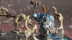 Action shot 3 (Sorastro) Tags: miniatures space warhammer marines hulk gamesworkshop genestealer spacehulk