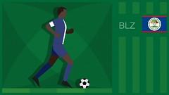 Belize Soccer Graphic (SidewinderII) Tags: sport football goal team kick belize fifa flag soccer country run player bandera jersey campo deporte pitch worldcup score turf ftbol gol dribble jaguars correr olympicgames equipo futbolista pas juegosolmpicos concacaf csped resultado blz copadelmundo patear belizeans beliceos