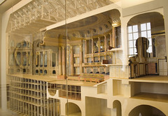 see temporary raised floor for wedding banquet (Wendy:) Tags: france wooden model versailles operahouse chateau marieantoinette privateapartments