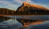 Mount Rundle at Dusk (Jeff Clow) Tags: mountrundle banffnationalpark canadianrockies vermilionlakes ©jeffrclow jeffclowphototour banffphototour 2014phototour