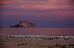 IMG_3967 Peñon(Rock) d'Ifach - tonight (jaro-es) Tags: sea españa sol canon mar spain meer sonne spanien calpe costablanca peñondeifach spanelsko penyaldifach eos450 blinkagain