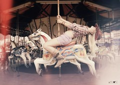 Sentrity ` (Luciano Paz) Tags: portrait horse colors fun flickr country carousel cowgirl lucianopaz sentrity