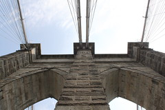 (kyraschnurbusch) Tags: nyc newyorkcity bridge newyork architecture brooklyn architektur brcke