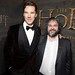 Benedict Cumberbatch and Peter Jackson