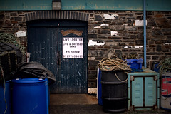 Harbour-Side Doorway (evans.photo) Tags: aberystwyth