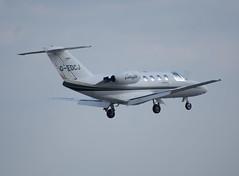 G-EDCJ C525 (Alan Sansbury) Tags: manchesterairport gedcj cessna525citationjetcj1 cn5250105