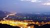 When The Night Comes (Ted Tsang) Tags: longexposure mountain car night landscape highway nightscape taiwan olympus 南投 freeway bluehour 夜景 magichour em1 lighttrail nantou 南投休息站 車軌 anawesomeshot 國道三號 voigtlandernokton25mmf095